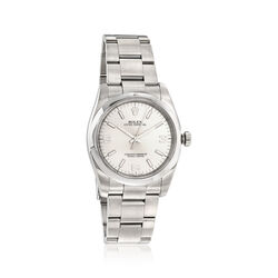 Certified Pre-Owned Rolex Oyster Perpetual Men's 36mm Automatic Watch in Stainless Steel, , default