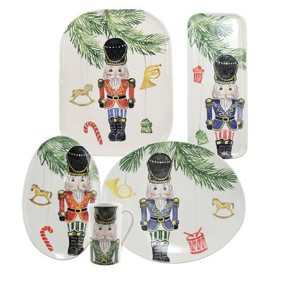 "Vietri ""Nutcracker"" Serveware from Italy"