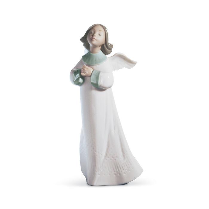 "Lladro ""Angel Wish"" Porcelain Figurine"