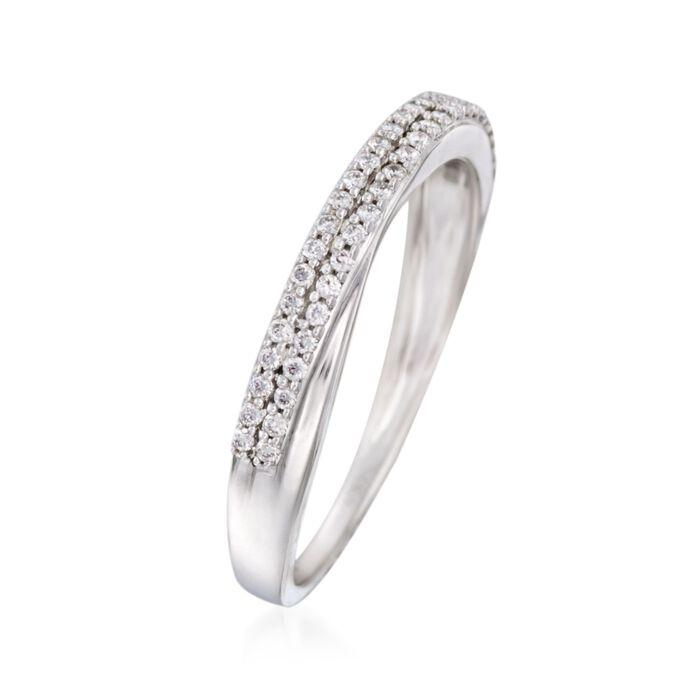 .20 ct. t.w. Diamond Wedding Band in 14kt White Gold