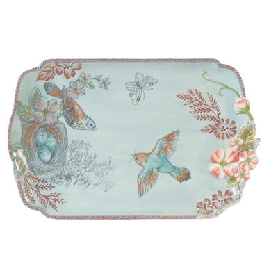 "Fitz and Floyd ""English Garden"" Serving Platter"
