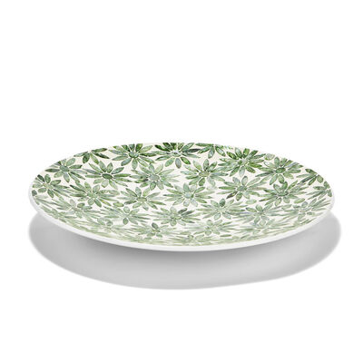 Mother-Of-Pearl Daisy Decorative Platter