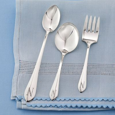 Sterling Silver Baby Feeding Set