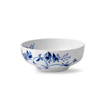 "Royal Copenhagen ""Blomst"" Sweet Pea Porcelain Serving Bowl"