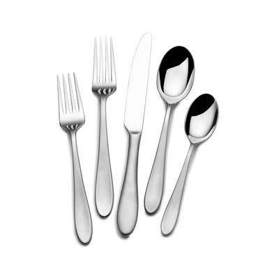 "Mikasa ""Prescott Satin"" 65-pc. Service for 12 Flatware Set"