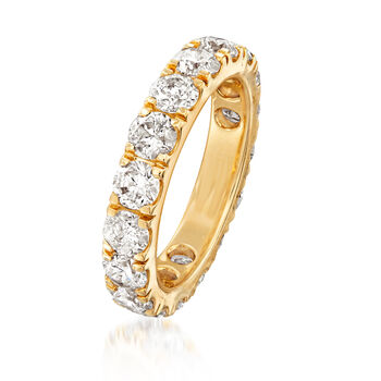 4.00 ct. t.w. Diamond Eternity Band in 14kt Yellow Gold, , default