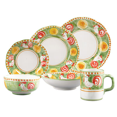 "Vietri ""Campagna Gallina"" Dinnerware from Italy, , default"