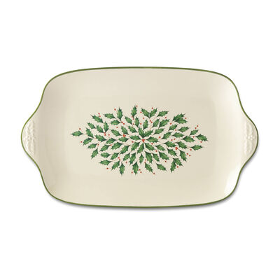 "Lenox ""Holiday"" Oversized Platter"