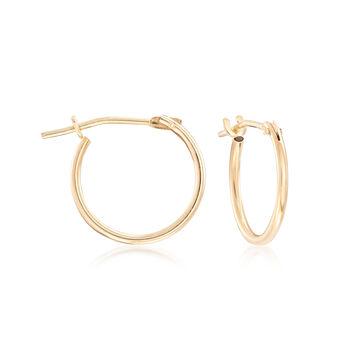 Mom & Me Heart Drop Earring Set of 2 in 14kt Yellow Gold, , default
