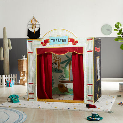 Child's Theater Play Tent