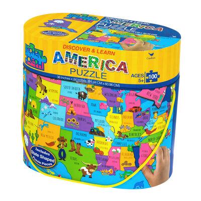 Child's 100-pc. USA Floor Puzzle by Stephen Joseph