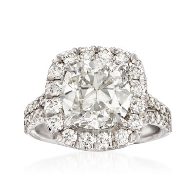 Majestic Collection 5.19 ct. t.w. Diamond Ring in 18kt White Gold, , default