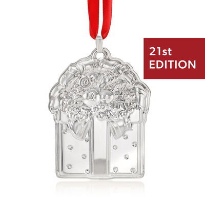 Reed & Barton 2018 Annual Sterling Silver Francis the First Ornament - 21st Edition, , default