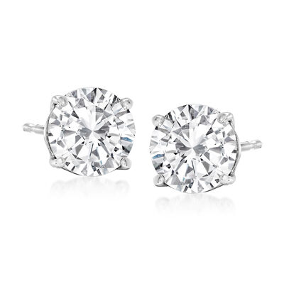 2.00 ct. t.w. Diamond Stud Earrings in Platinum