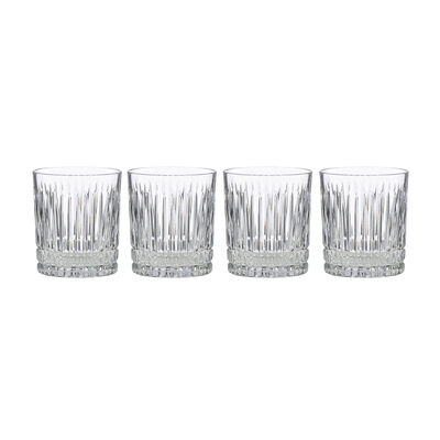 """Reed & Barton 4-pc. """"New Vintage"""" Benson Double Old Fashioned Glassware Set, , default"""