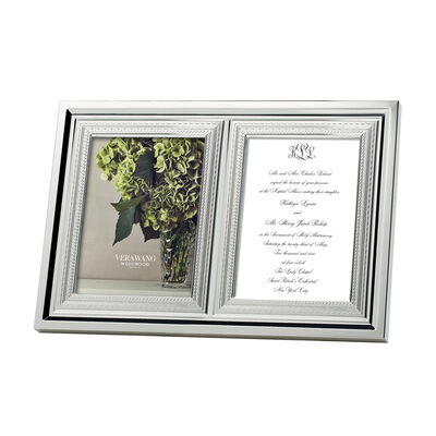 "Vera Wang for Wedgwood ""With Love"" Double 5x7"" Frame, , default"