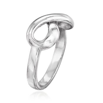 Sterling Silver Infinity Ring, , default