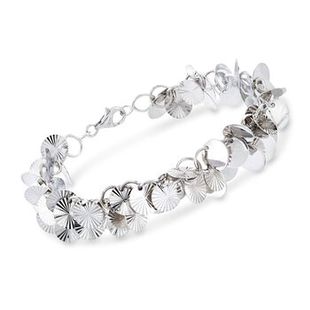 Sterling Silver Multi-Circle Bracelet, , default