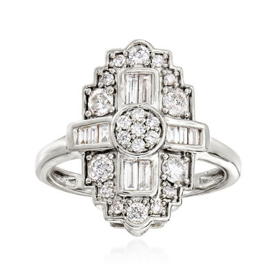 .75 ct. t.w. Diamond Ring in Sterling Silver