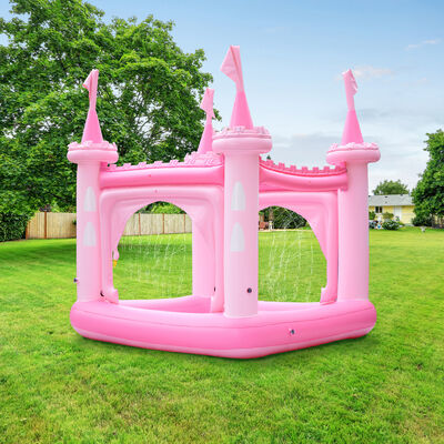 Child's Pink Castle Inflatable Kiddie Pool