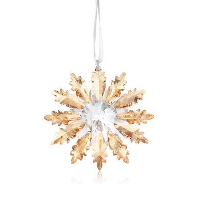 Swarovski Crystal Winter Star Ornament, , default