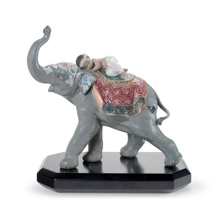"Lladro ""Jaipur Festival"" Porcelain Figurine"