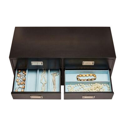"Mele & Co. ""Teagan"" Java Wooden Jewelry Box, , default"