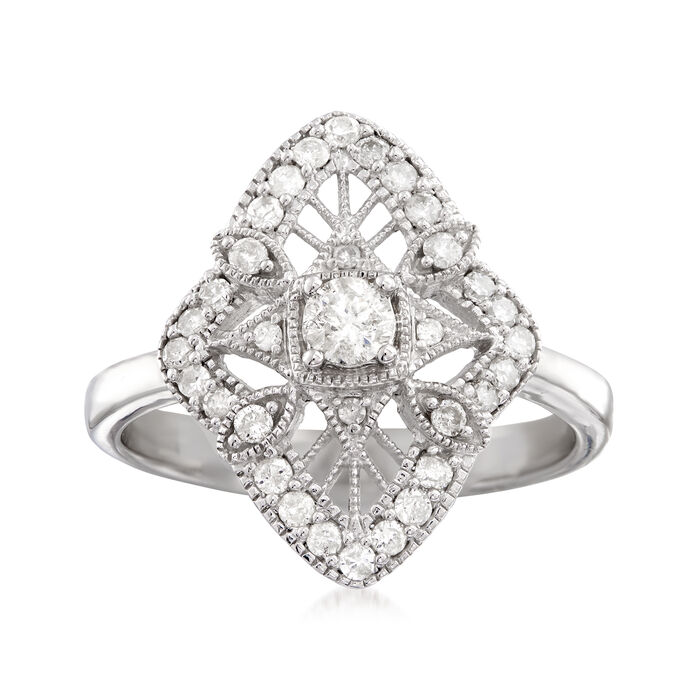 .49 ct. t.w. Diamond Ring in Sterling Silver