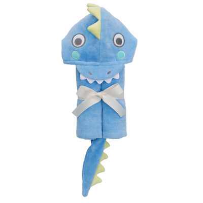Elegant Baby Hooded Sea Serpent Bath Towel