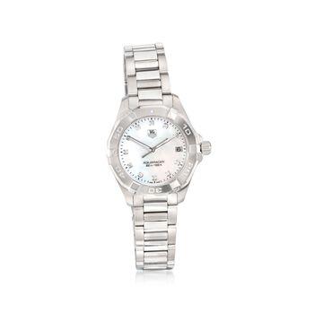 TAG Heuer Aquaracer Women's 32mm .11 ct. t.w. Diamond Watch in Stainless Steel , , default