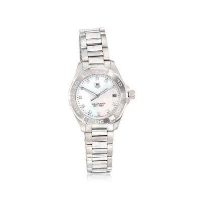TAG Heuer Aquaracer Women's 32mm Automatic Stainless Steel