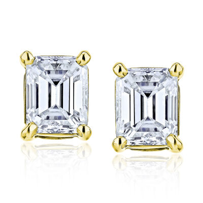 1.90 ct. t.w. Diamond Stud Earrings in 14kt Yellow Gold, , default