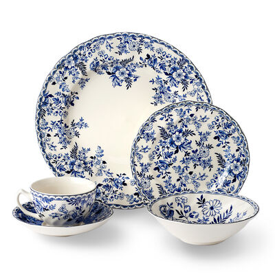 "Johnson Brothers Wedgwood ""Devon Cottage"" Earthenware Dinnerware, , default"