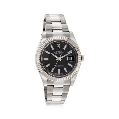 Certified Pre-Owned Rolex Datejust Men's 41mm Automatic Stainless Steel Watch, , default