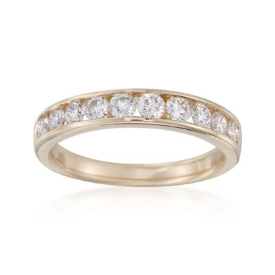 1.00 ct. t.w. Diamond Ring in 14kt Yellow Gold