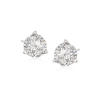 1.50 ct. t.w. Diamond Martini Stud Earrings in Platinum , , default