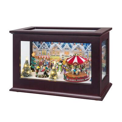 "Mr. Christmas ""Heirloom Christmas"" Music Box, , default"