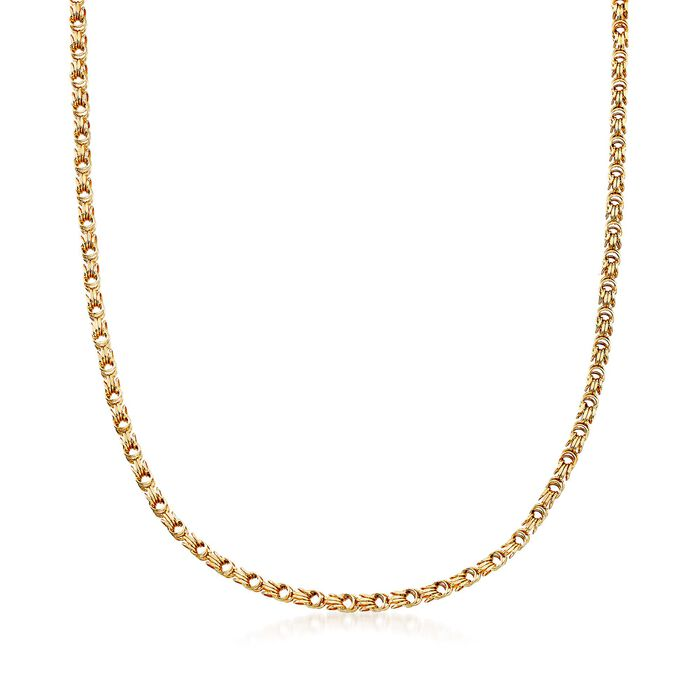 14kt Yellow Gold Multi-Link Necklace