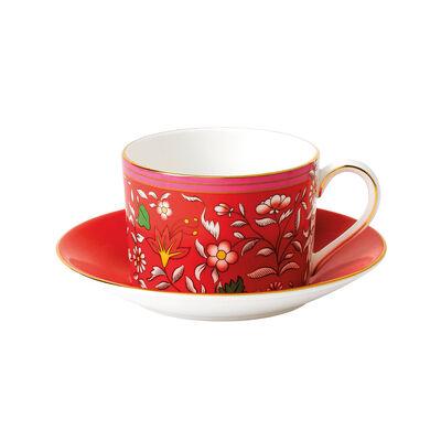 """Wedgwood """"Wonderlust"""" Oriental Jewel 2-pc. Teacup and Saucer, , default"""