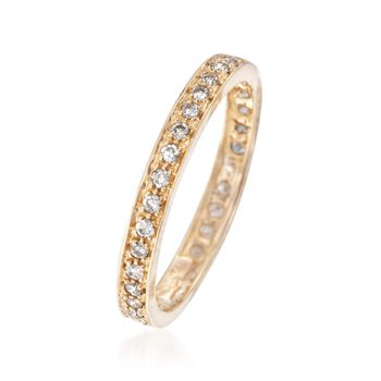 .30 ct. t.w. Diamond Eternity Band in 14kt Yellow Gold, , default