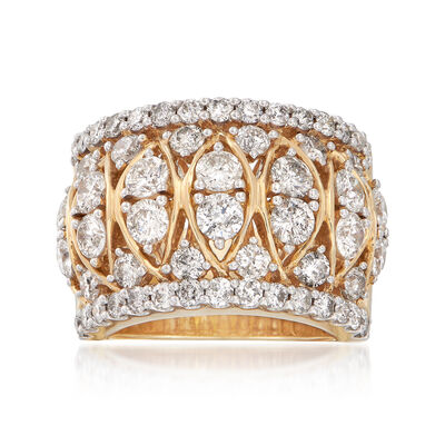 4.00 ct. t.w. Diamond Band Ring in 14kt Yellow Gold, , default