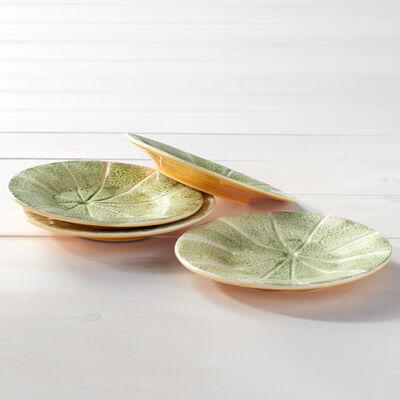 Bordallo Pinheiro Melon - Set of Four Small Plates, , default