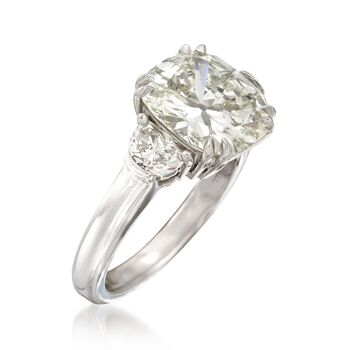 Majestic Collection 5.07 ct. t.w. Diamond Ring in 18kt White Gold, , default