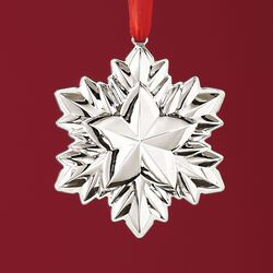 Reed & Barton 2018 Annual Sterling Silver Holiday Star Ornament - 2nd Edition, , default
