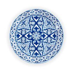 """4-pc. Salad Plate Set - """"Talavera"""" Azul Melamine Dinnerware, , default"""