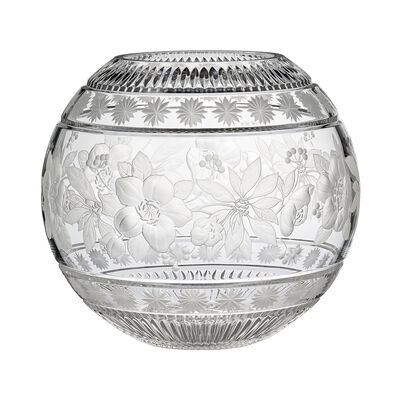 "Waterford Crystal ""Master Craft"" 2019 Annual Garland Globe Bowl, , default"