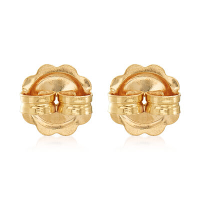 Italian 14kt Yellow Gold X-Large 9mm Earring Backings, , default