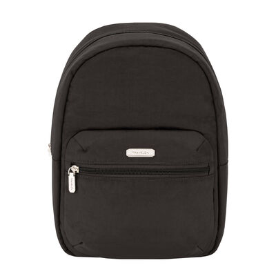 Anti-Theft Essential Black Backpack