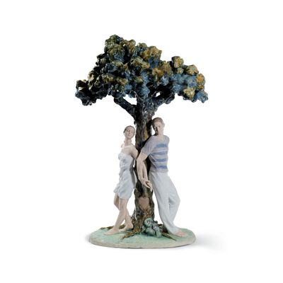 "Lladro ""The Tree of Love"" Porcelain Figurine, , default"