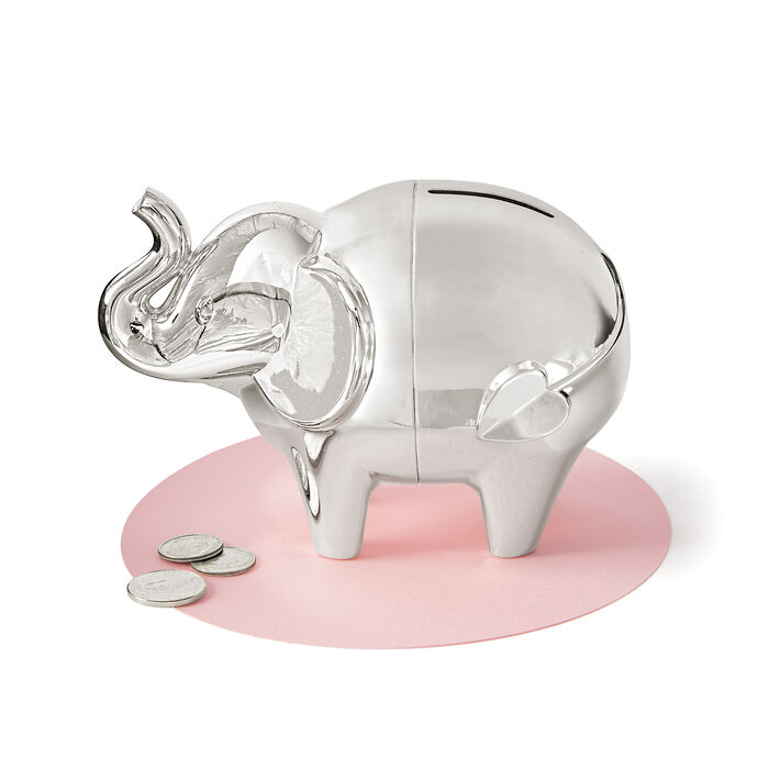 "Vera Wang for Wedgwood ""Love Always"" Elephant Bank, , default"